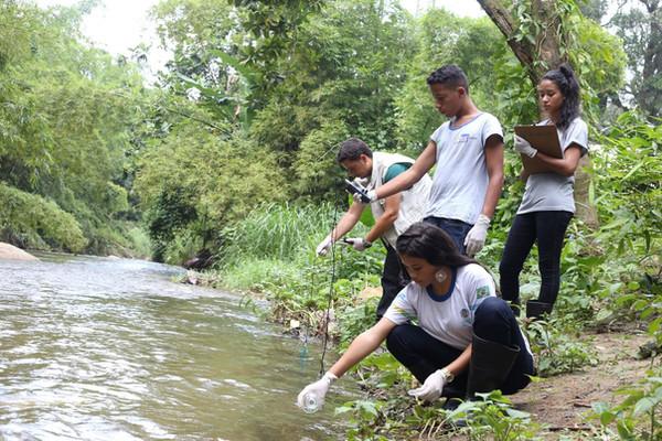 Monitoramento de águas - Onda Verde