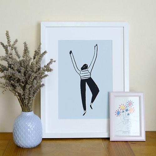 Individual Ballet Dancers Print