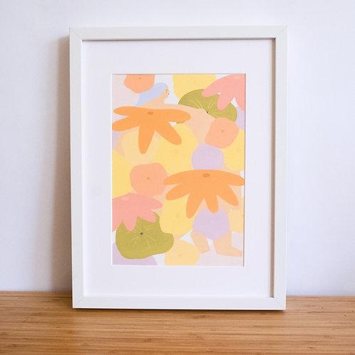 Springtime Lady Print