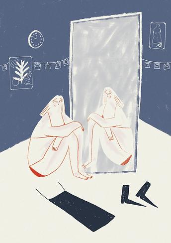 aila magazine body stories body image mental health body positivity illustration feminist illustration