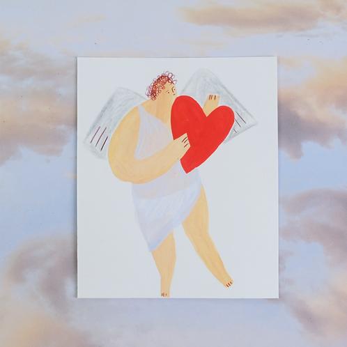 Cupid Original Artwork 8/10