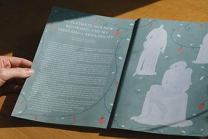 popshot magazine sarah wilson swillitstrations intimacy illustration editorial