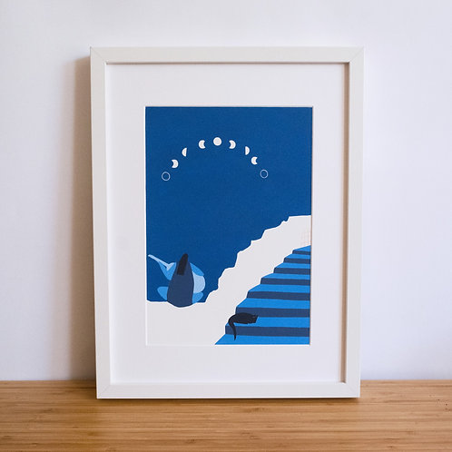 Moon Phases Print