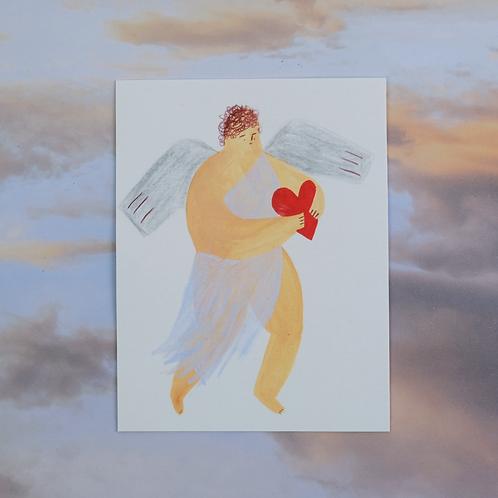 Cupid Original Artwork 3/10