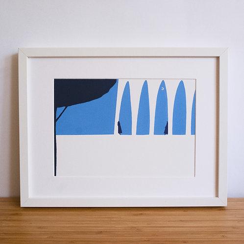 Archways Print