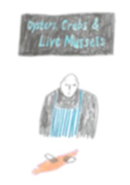 fresh fish daily illustration fishmonger reportage
