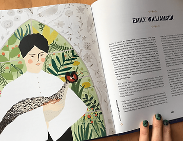 first in the fight illustration emily williamson rspb