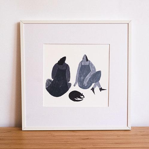 Three Friends Print