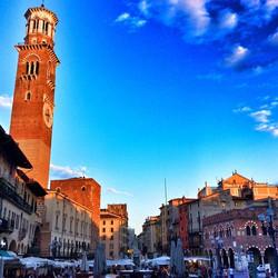 Verona sunset! #italy #lastweek