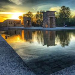Debod! #Madrid #Spain #sunset _thegannp
