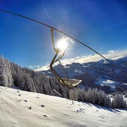 Alpine Sunday! #pow #tirol #austria
