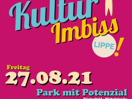 Kulturimbiss in Extertal am 27.08.21 um 18.00 Uhr und 21.00 Uhr