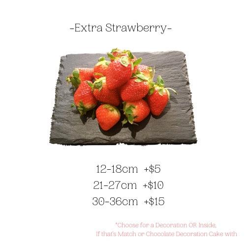 EXTRA STRAWBERRY
