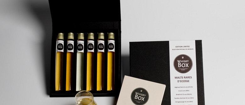 Coffret dégustation de 6 Whiskys du Monde
