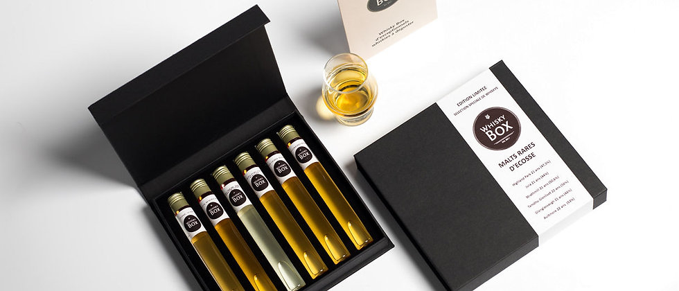 Coffret dégustation de 5 Whiskys de France