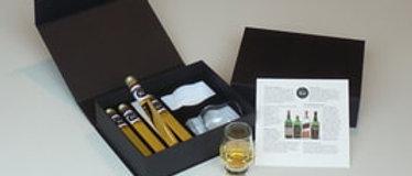 Coffret dégustation de 4 whiskys Blends des Années 70