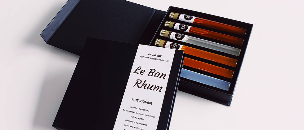Coffret Rhums du Monde - Rhum Box