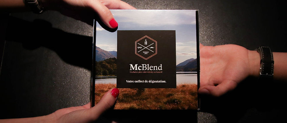 Coffret Whiskys du Monde - Version McBlend