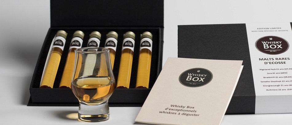 Coffret de 6 whiskys tourbés