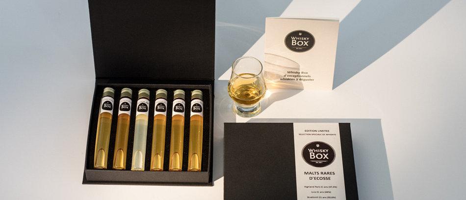 Coffret dégustation de 6 Whiskys américain