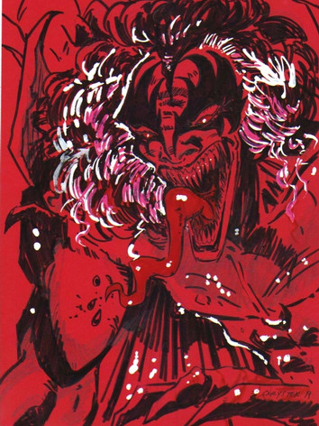 Super Demonic Gene-Red