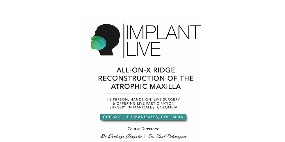 DIDACTIC TRAINING FOR ALL-ON-X RIDGE RECONSTRUCTION OF THE ATROPHIC MAXILLA
