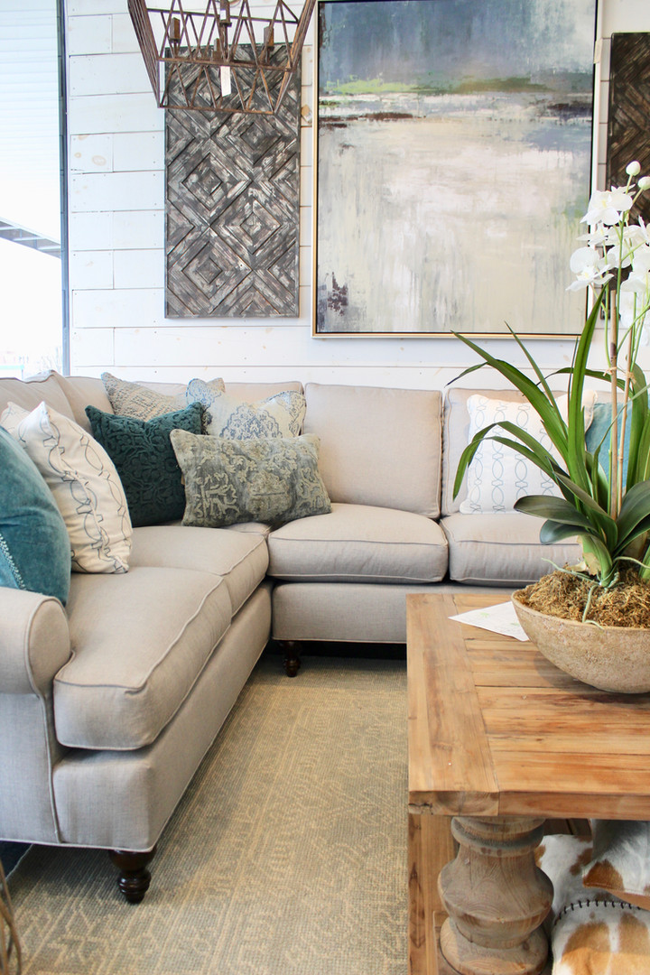 Sofas in all sizes and styles.