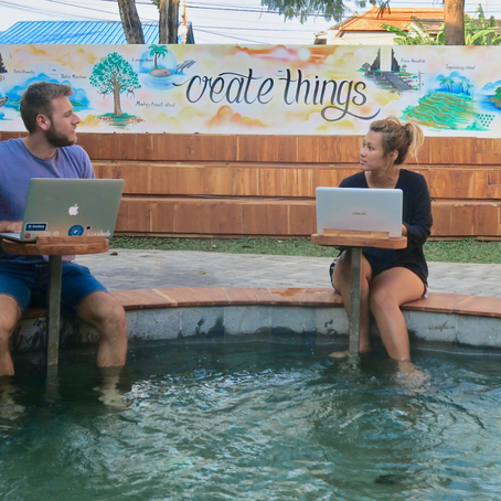 Becoming a Digital Nomad: Chris the Freelancer & Denise Laz