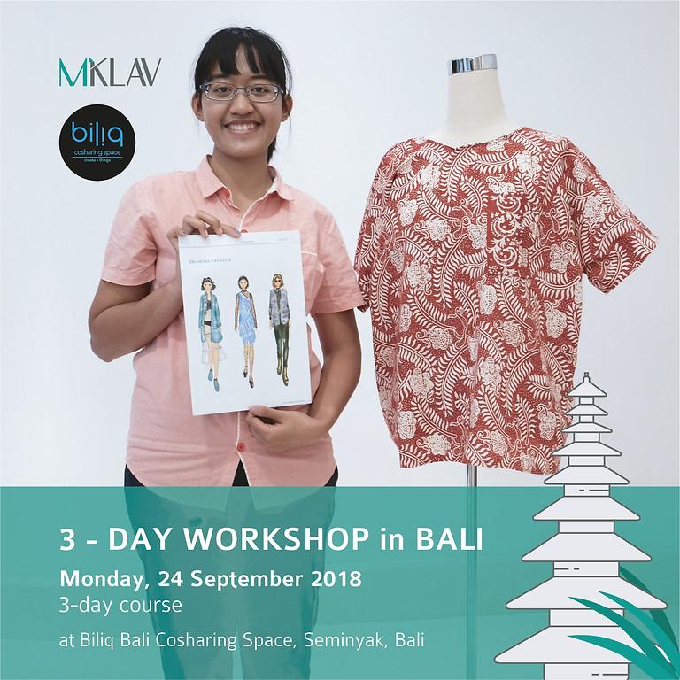 3-Day Fashio Design Workshop with MKLAV