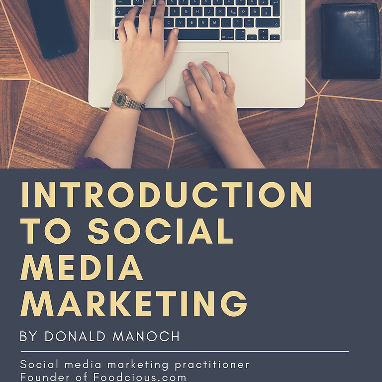 Introduction to Social Media Marketing (Update: CLASS IS FULL)