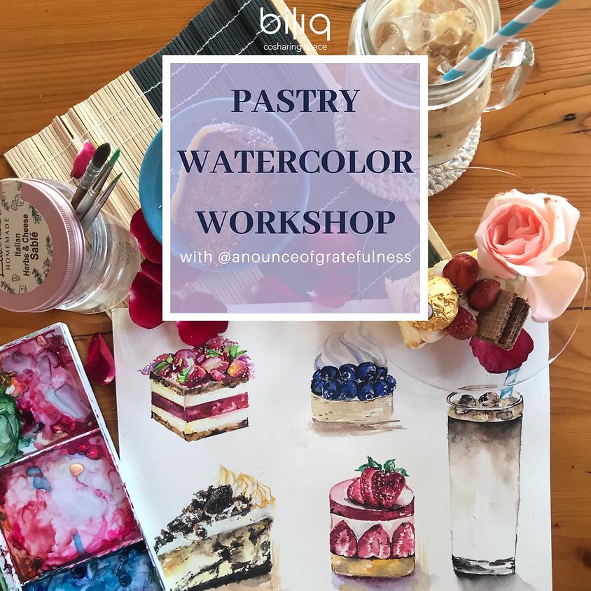 Pastry Watercolor Workshop