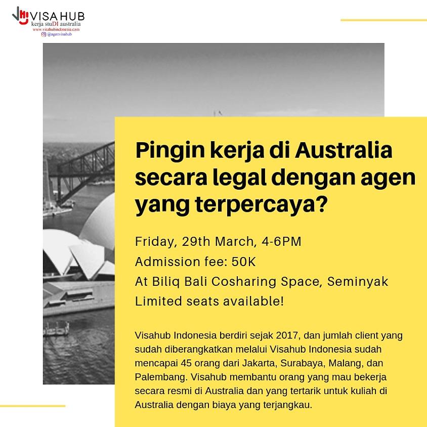 Kerja di Australia Dengan Legal