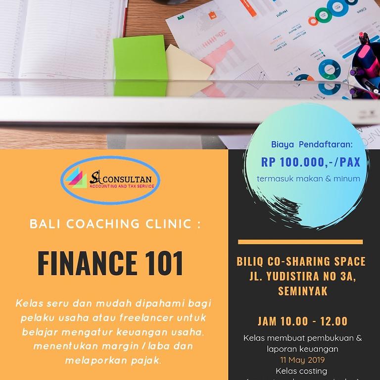 Finance 101 for Freelancer & Small Business Owner