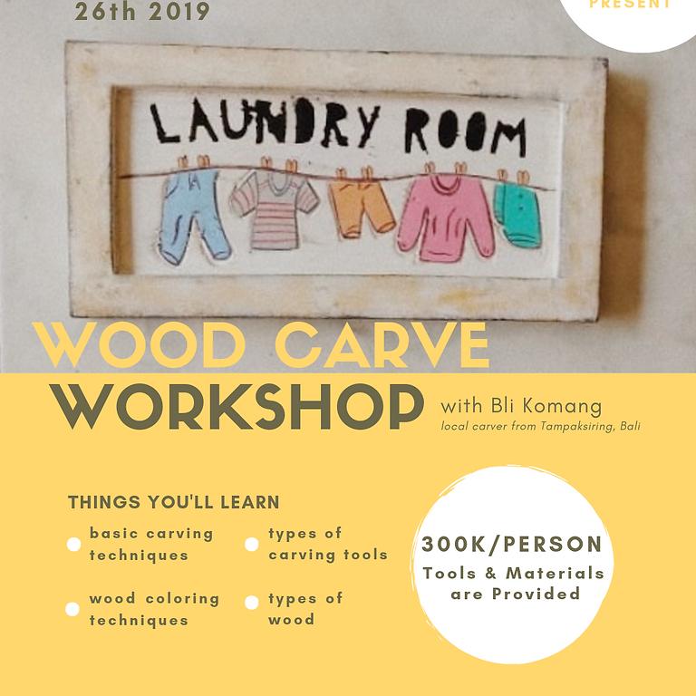 Wood Carving Workshop