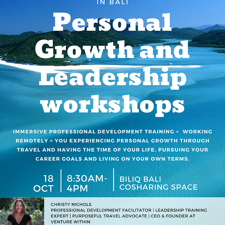 Personal Growth and Leadership Workshop