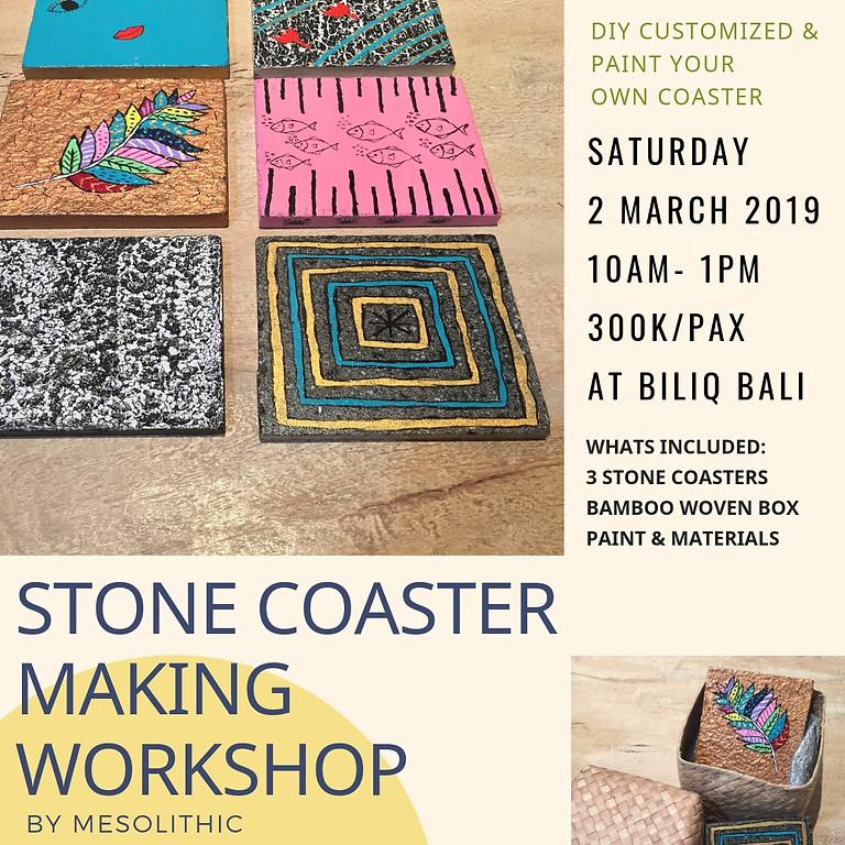 Stone Coaster Making Workshop
