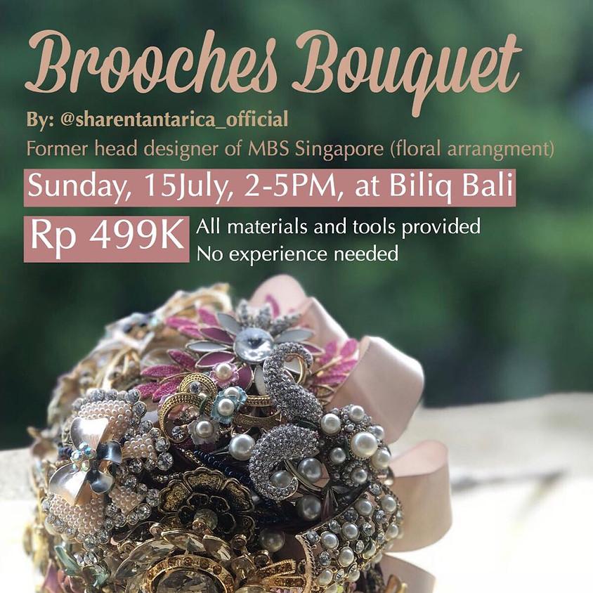 Brooches Bouquet Workshop