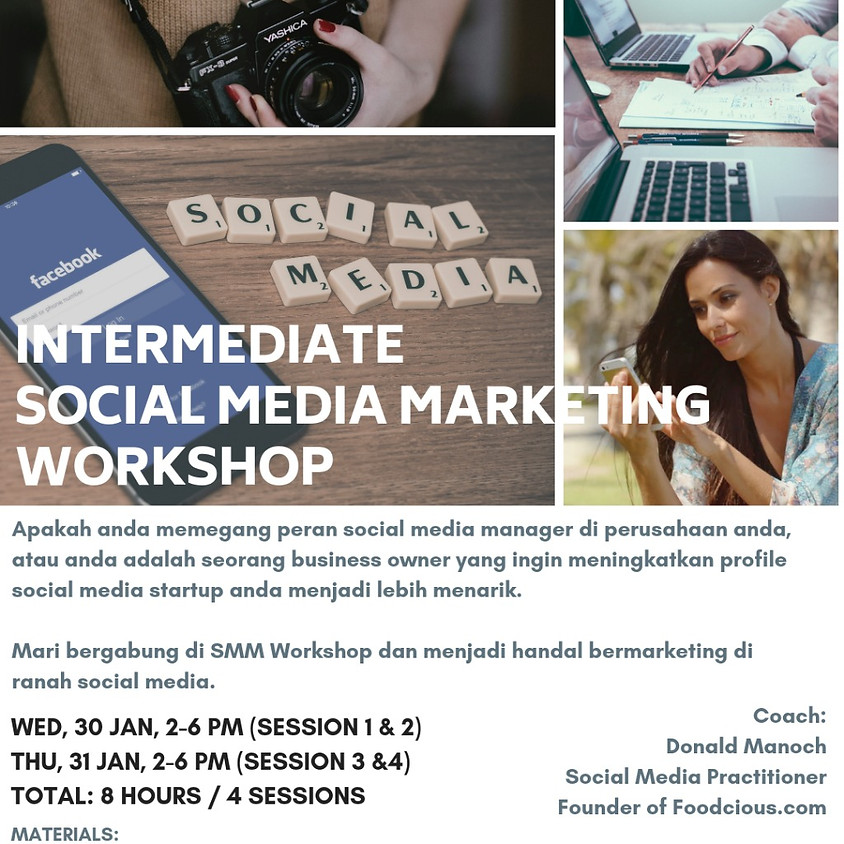 Intermediate Social Media Marketing Workshop