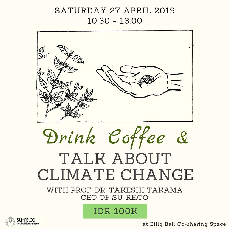 Drink Coffee & Talk About Climate Change