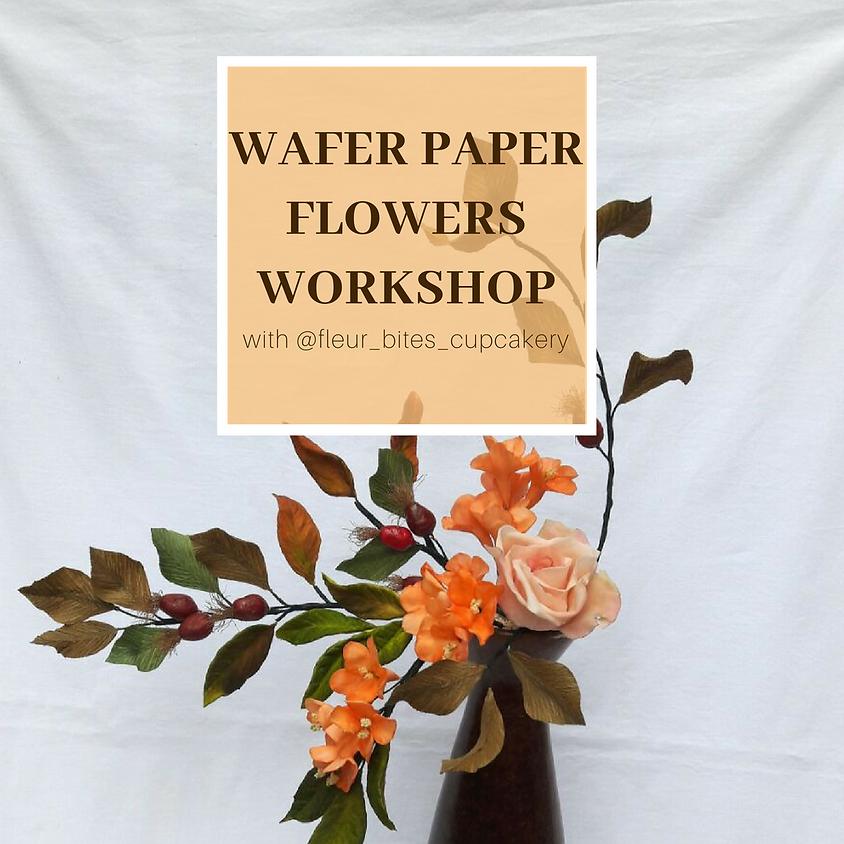 Wafer Paper Flowers Workshop