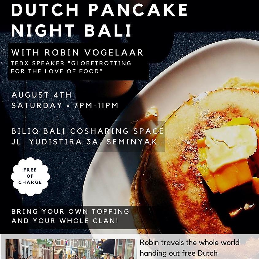 Dutch Pancake Night Bali