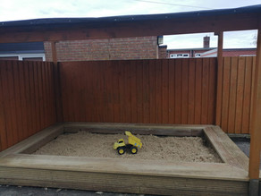 Sand pit now open!