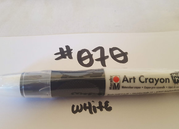 Marabu Creative Art Crayon White