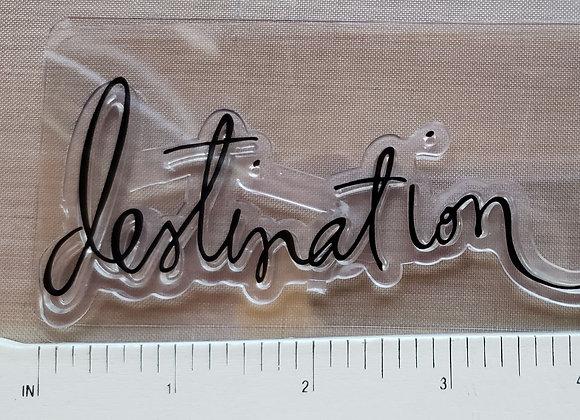 Heidi Swapp DESTINATION stamp