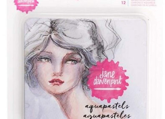 Jane Davenport Aqua Pastels
