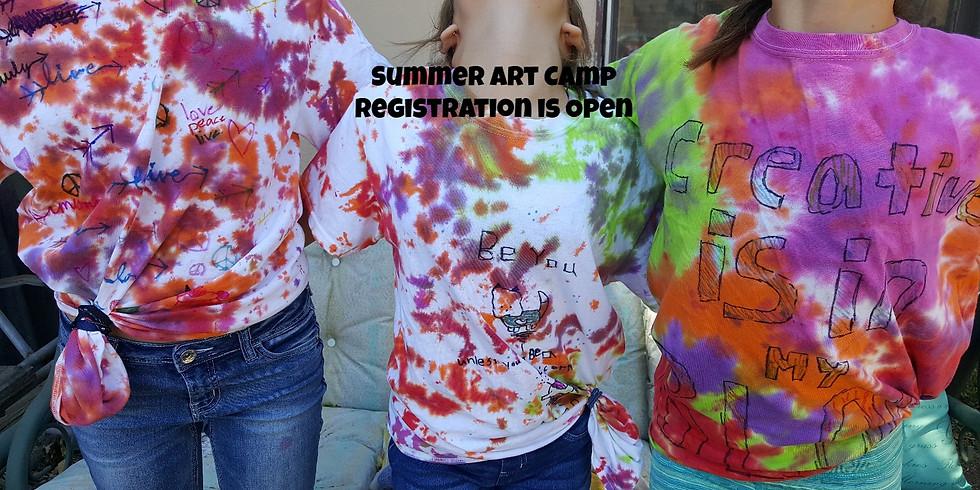 Art Camp Deposit June 18-21