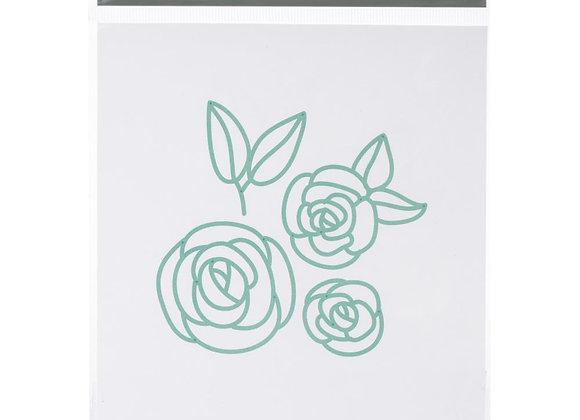 Fine line flowers