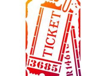 Tag Tickets Stencil