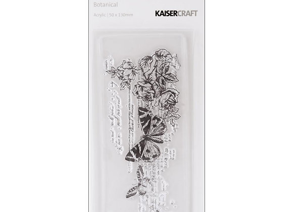 BOTANICAL -TIMELESS CLEAR STAMP