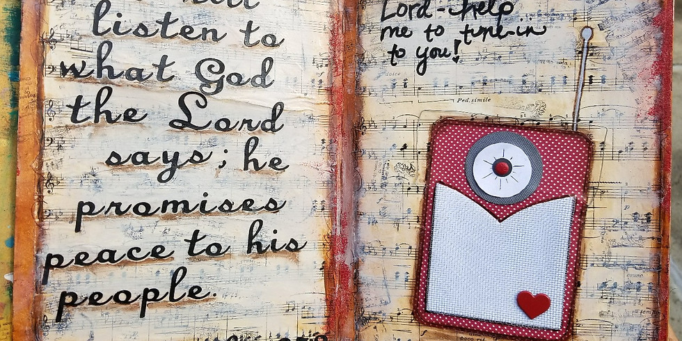 Faith With Moxie Art Journaling